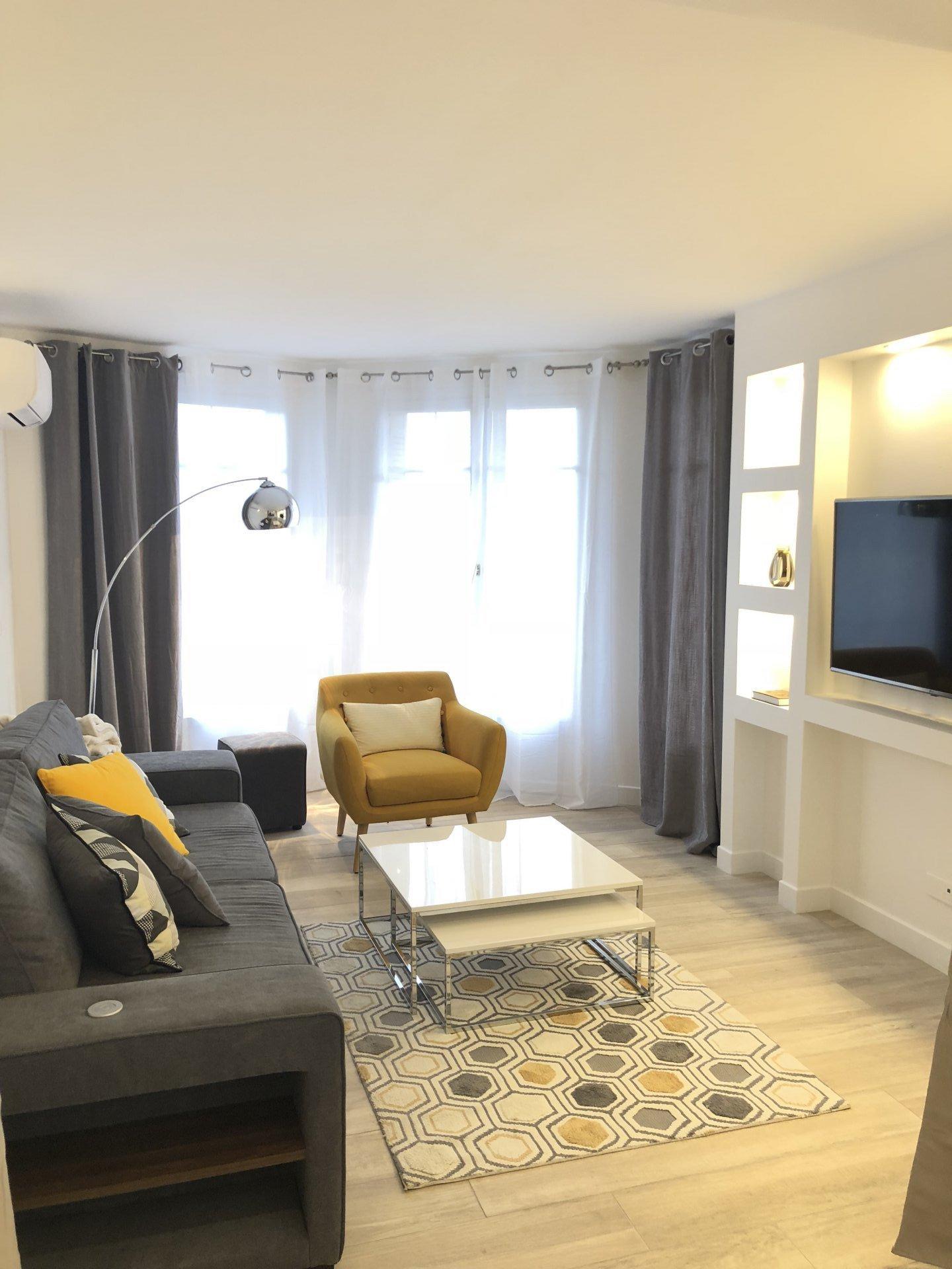 2P de 55 m² Cannes - Banane