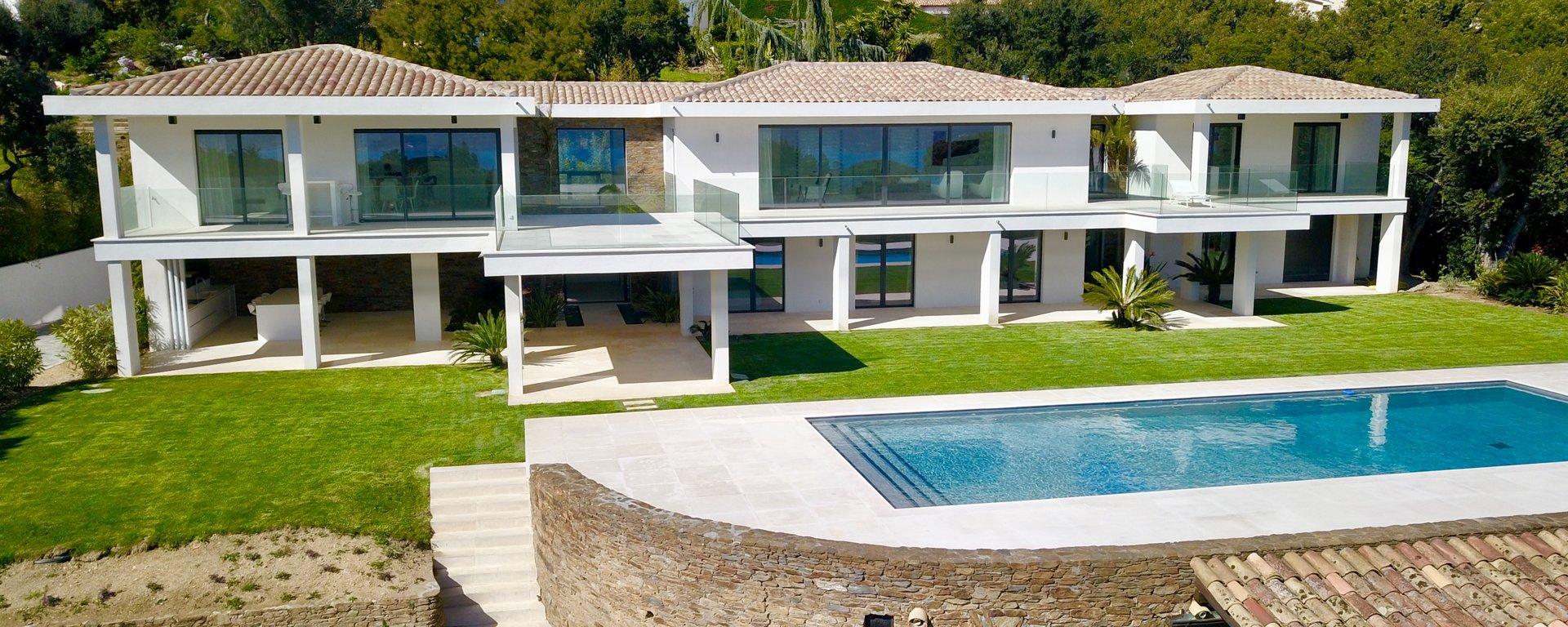 Villa - Proche Saint-Tropez - Vue mer panoramique
