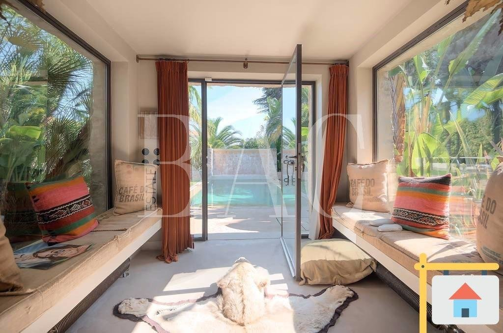 Villa à 200 mètres de la mer et avec vue mer panoramique