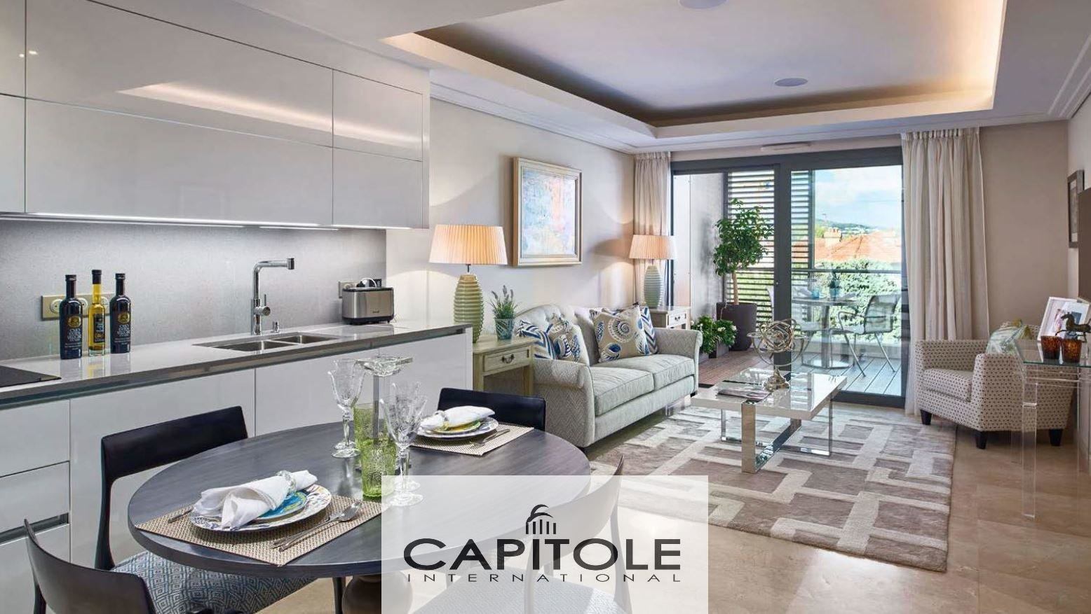 Cap D'antibes.  For sale Luxurious new built residence  2 bedrooms apartment of 102m²