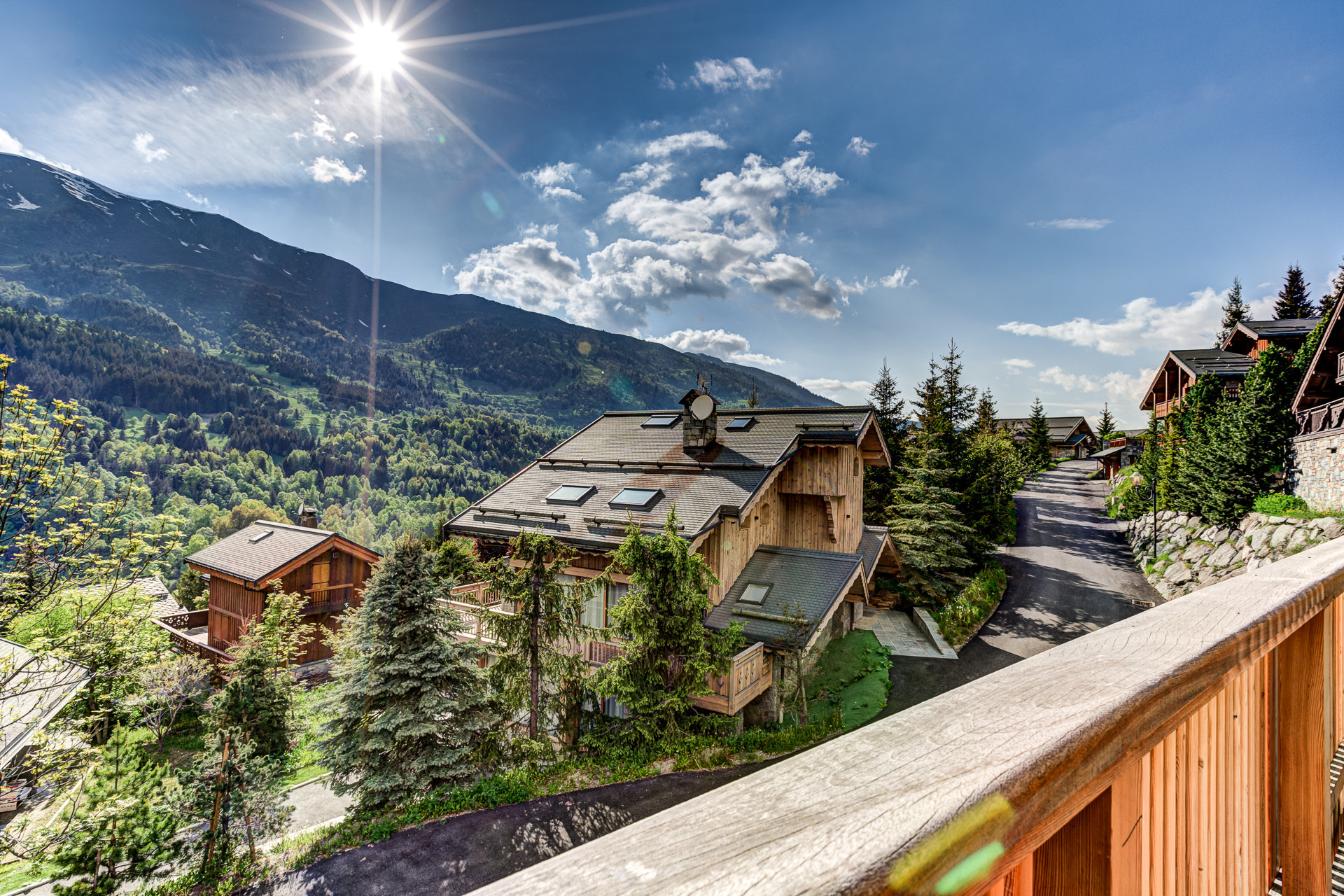 200 sqm, contemporary chalet with view
