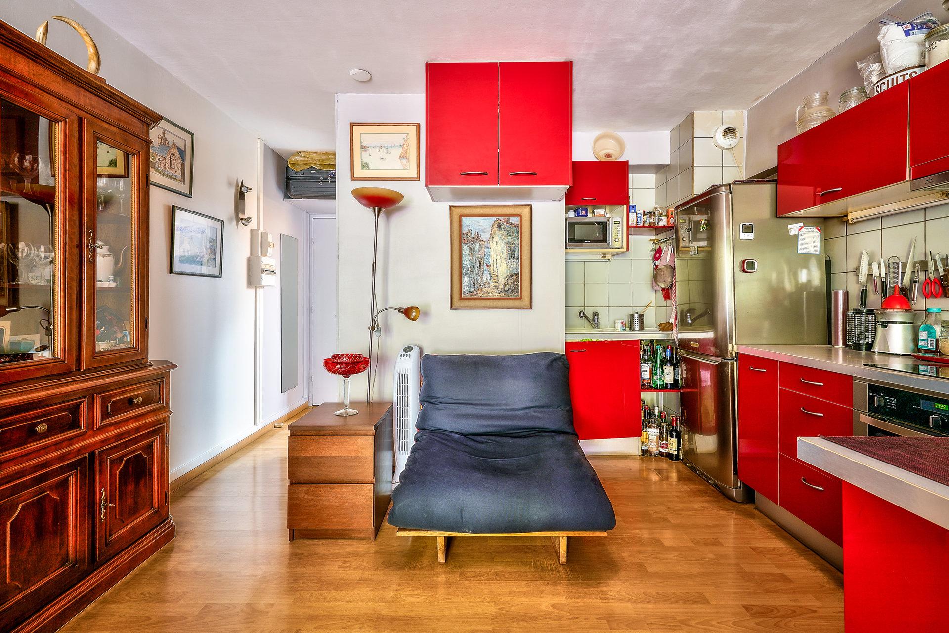 Studio - Terrasse - Jardin - Lamarck
