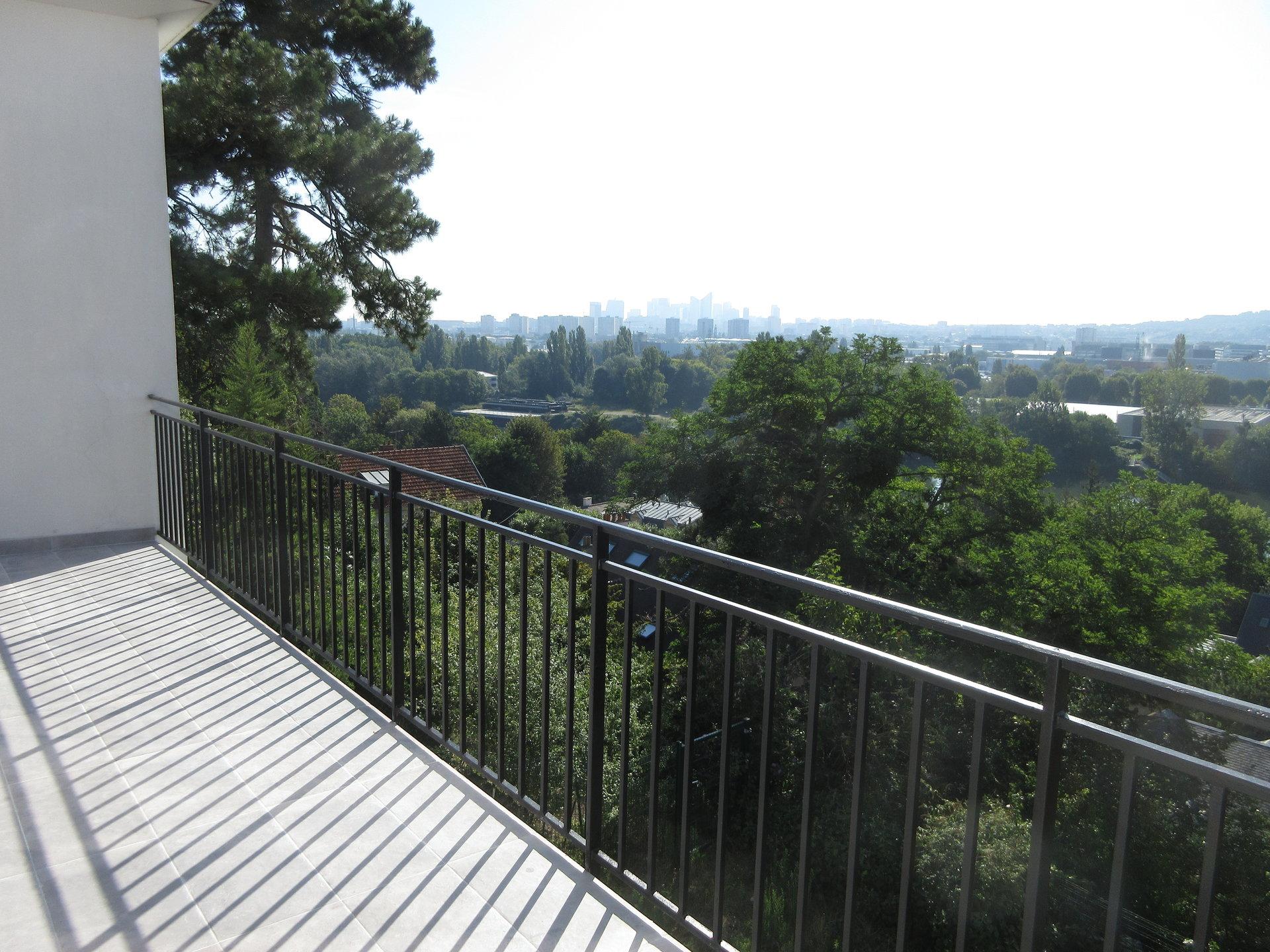 Appartement avec terrasse vue Seine