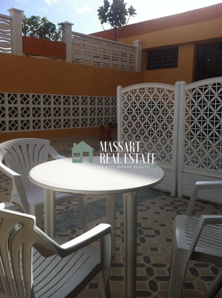 For rent in the quiet area of Playa La Arena, furnished apartment of 57 m2 ready to move into now.