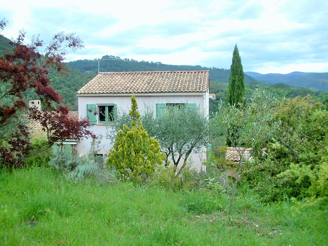 « House in Anduze with view – possible gîte»