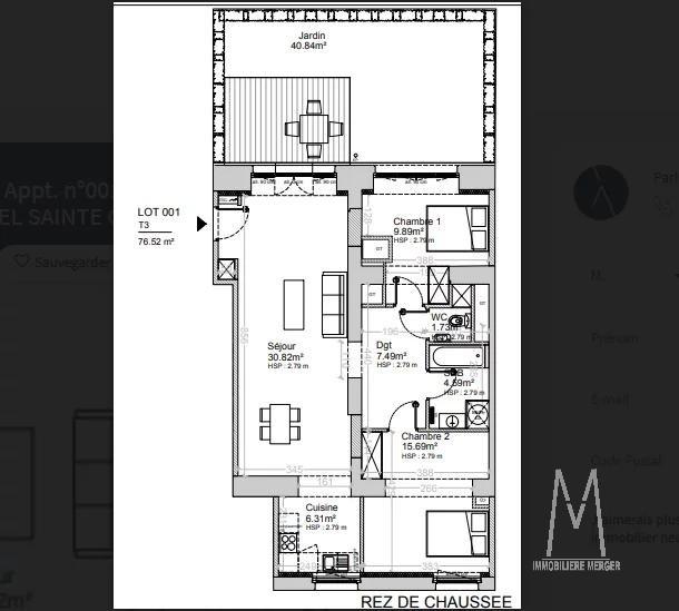 3 P JARDIN / STRASBOURG NEUDORF