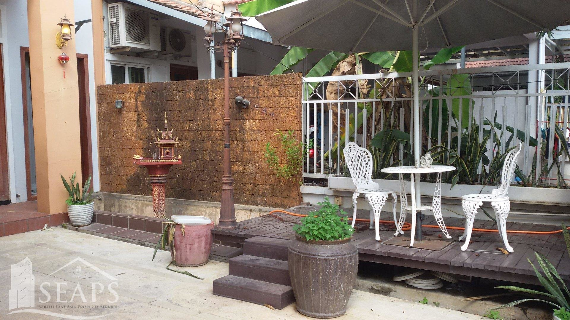 VILLA 4 BEDROOM FOR RENT IN CHAMKARMON - TONLE BASSAC