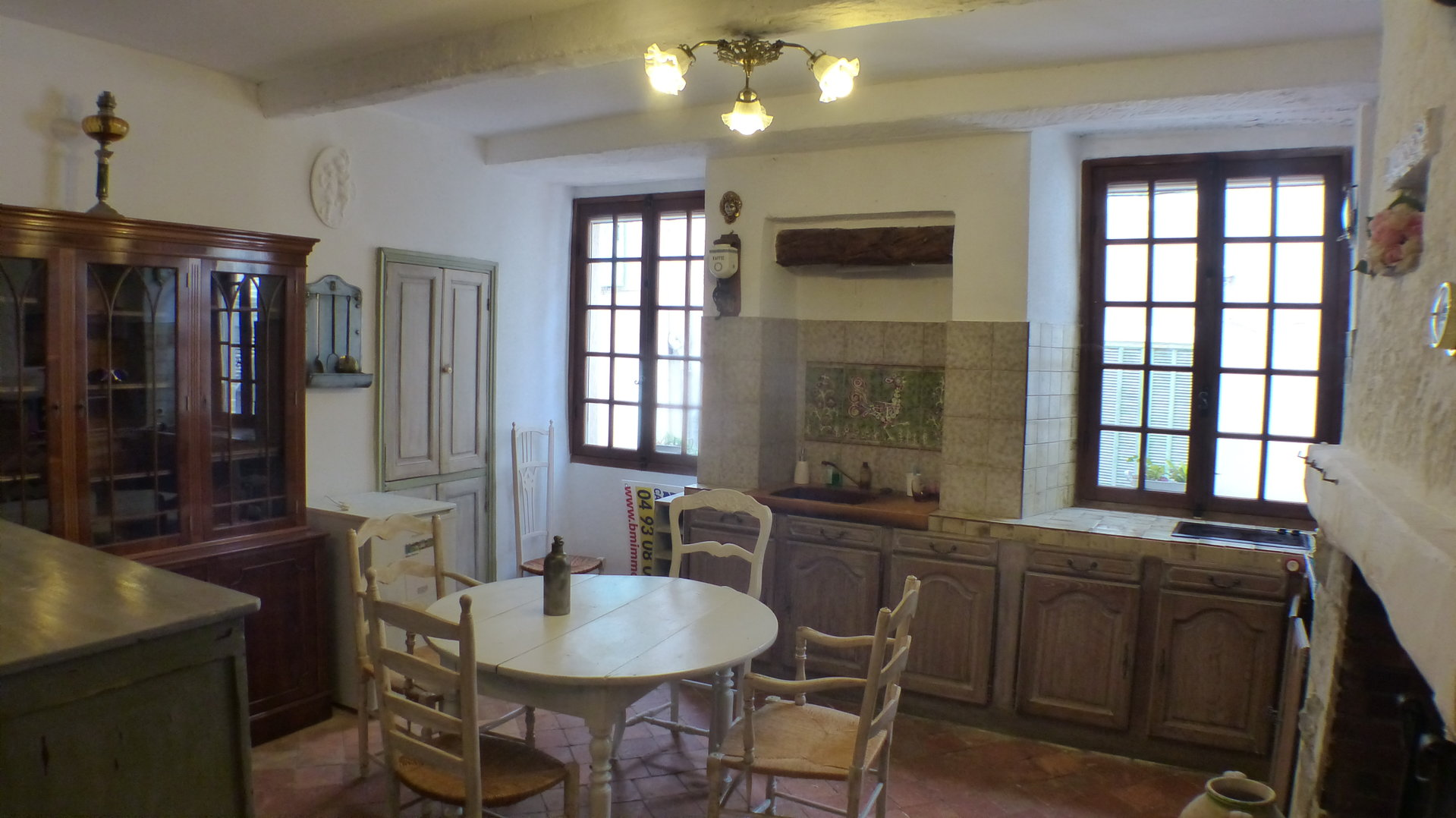 3 rooms apartment in picturesque village