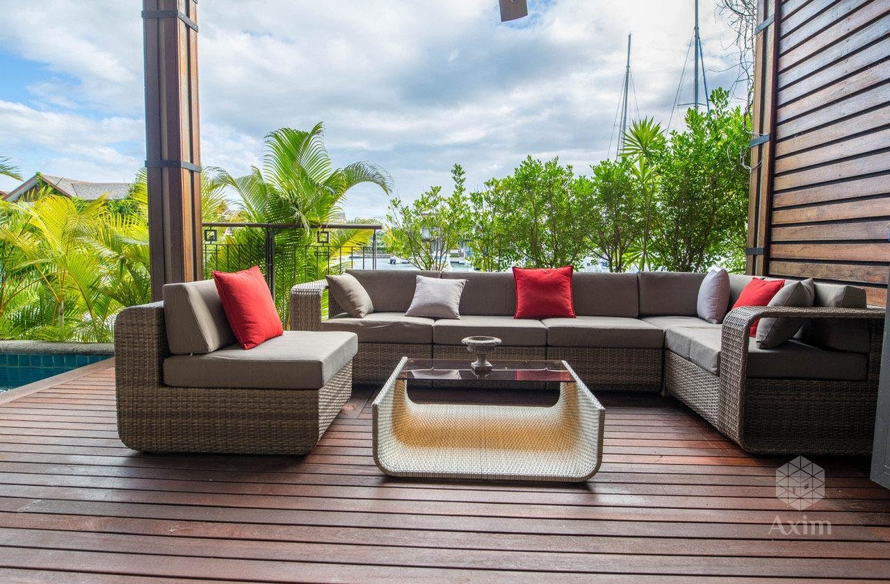 TAMARIN (mauritius island) - Apartment 4 bedrooms with boat place