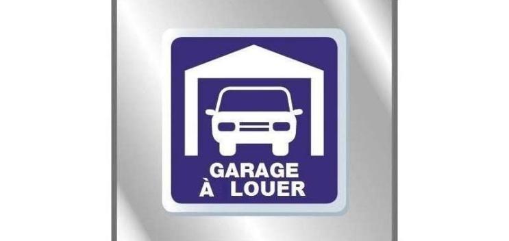 A LOUER GARAGE NICE