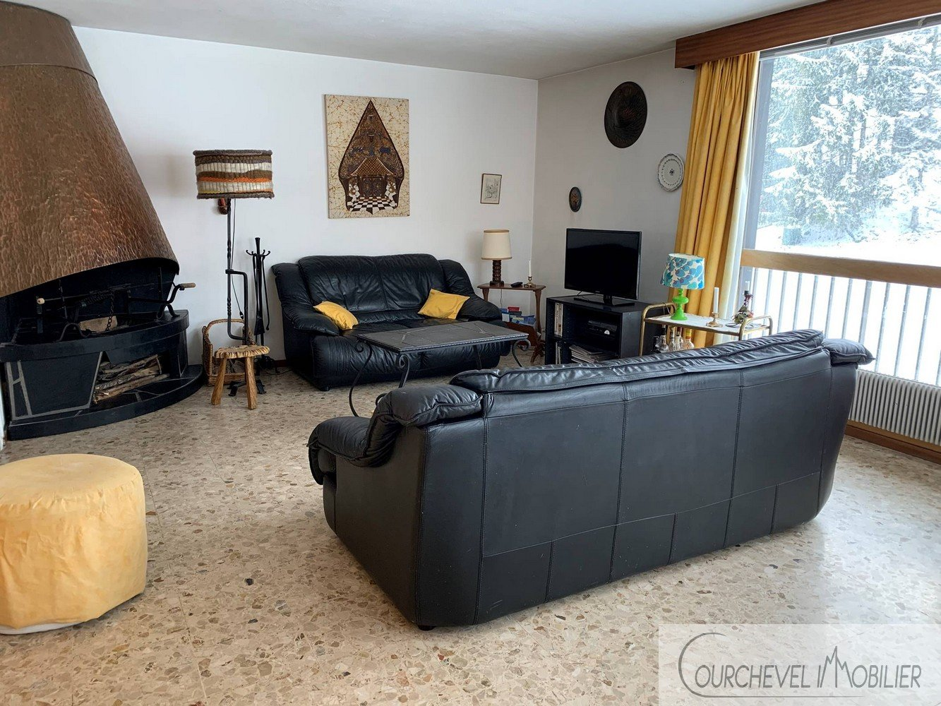LARGE APPARTEMENT - COURCHEVEL LE PRAZ