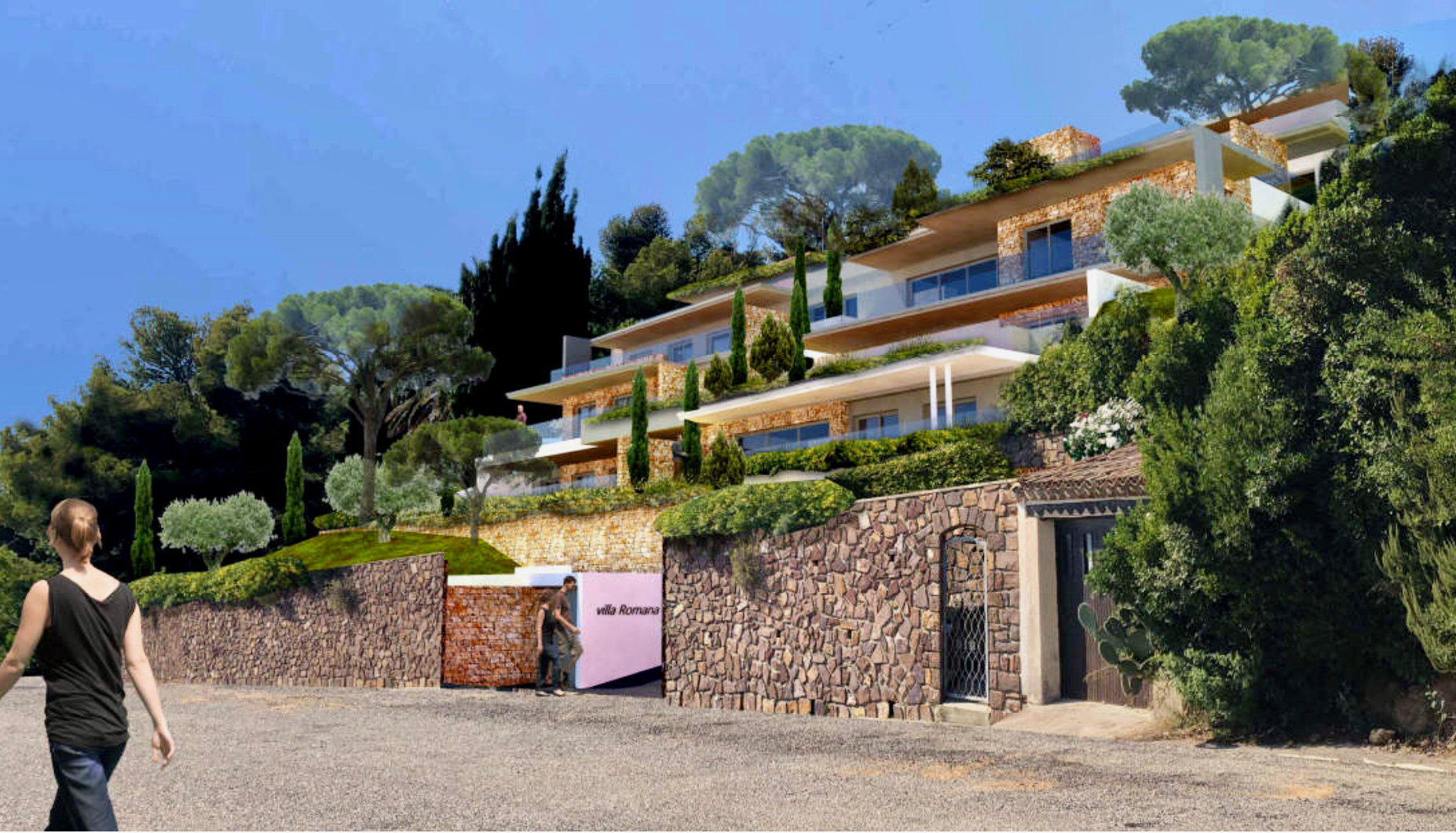 Les Issambres - new construction high standing apartment  - of 80,4m2 - with great sea-view