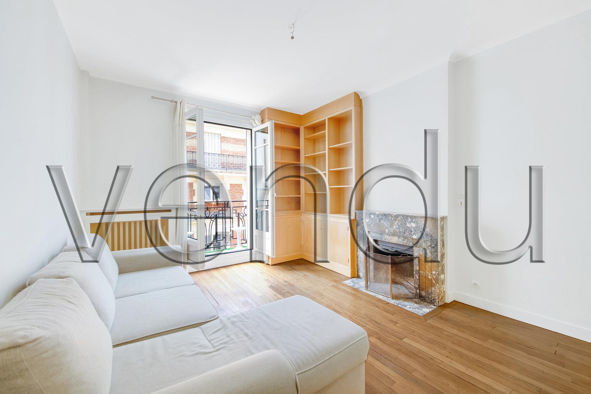 EXCLUSIVITÉ Appartement de charme 2 pièces à Montmartre