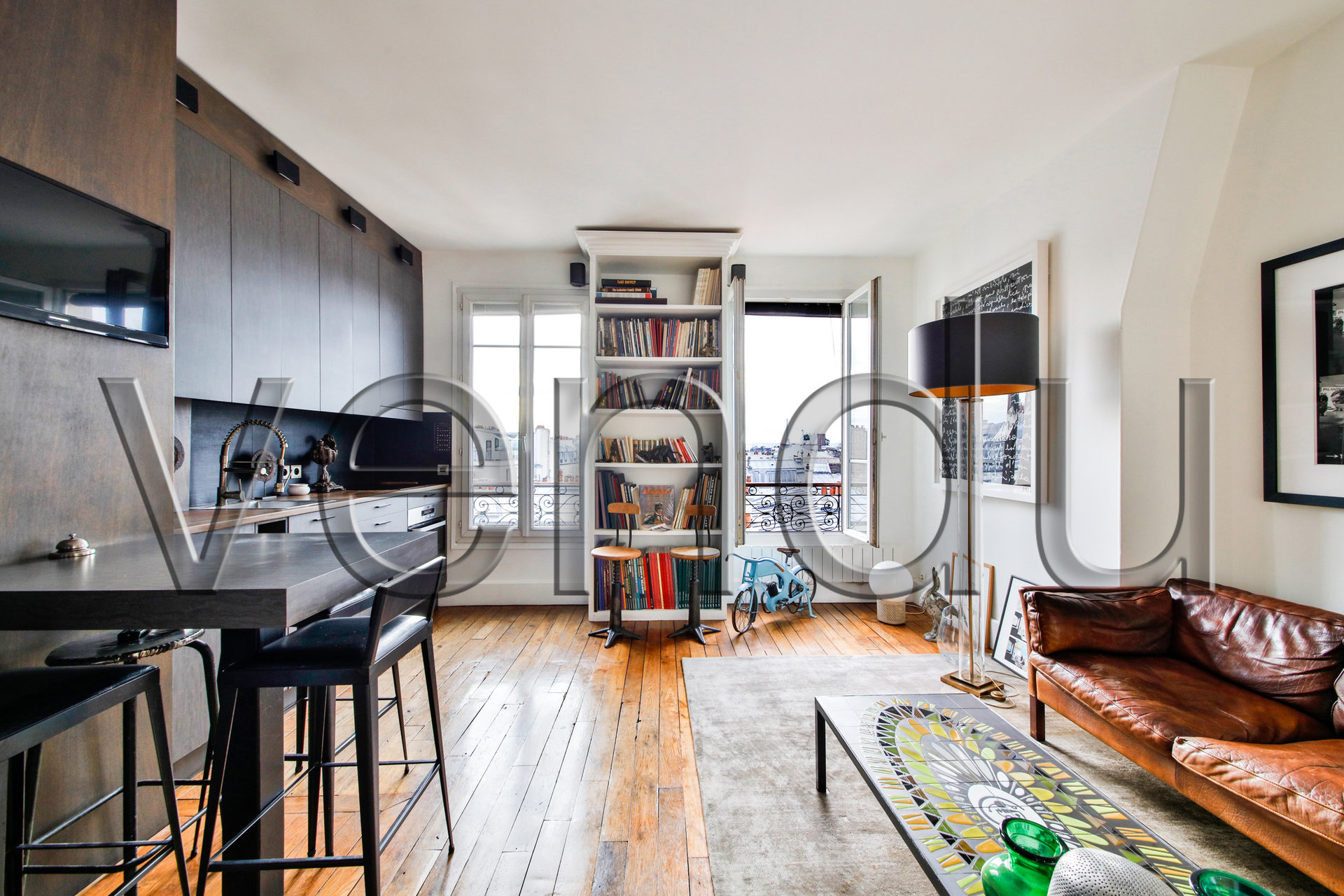 EXCLUSIVITÉ Appartement à Montmartre avec vue sur tout PARIS