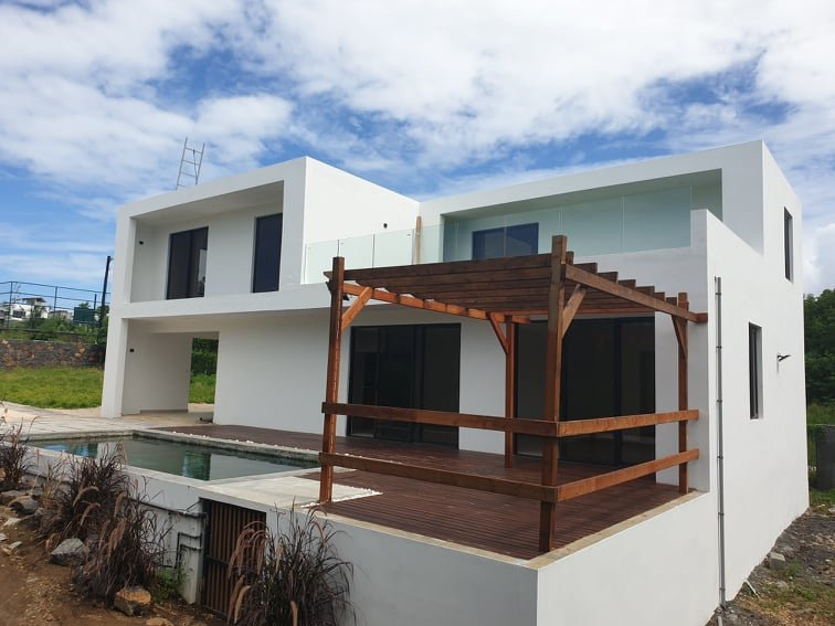 New house near the sea