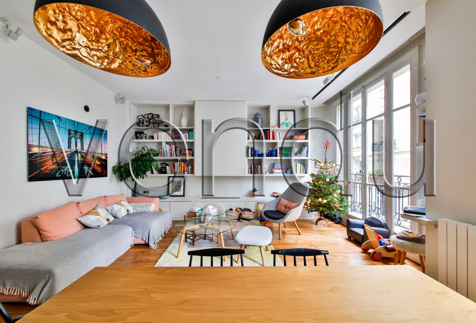 CAULAINCOURT/JUNOT appartement familial