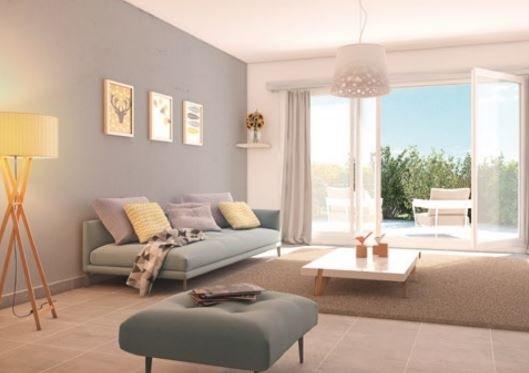 Plans de Carros (06510) - appartement 2 pièces - terrasse