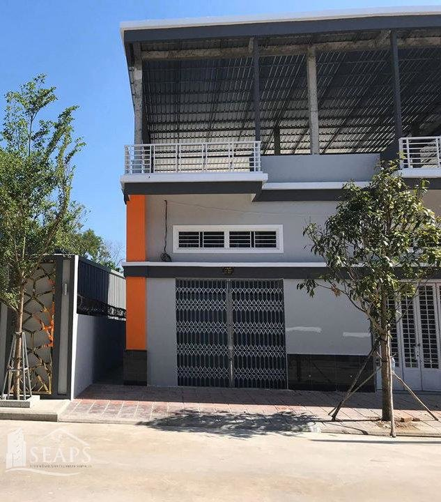 2 BEDROOMS BOREY FLAT HOUSE FOR SALE IN RUSSEI KEO - SVAY PAK
