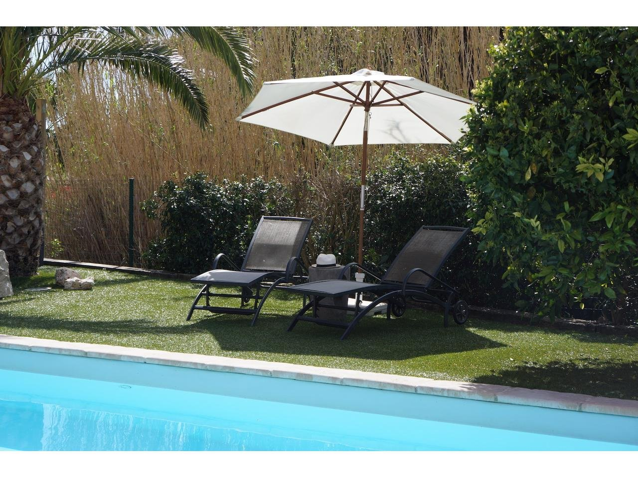 Sainte Maxime, La Nartelle, excellent villa with pool.