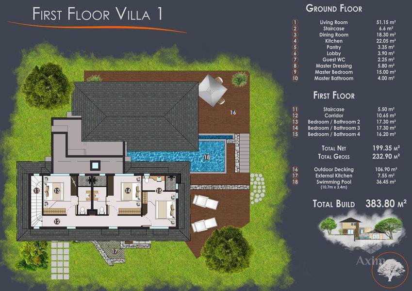 Construcción Villa - Tamarin - Mauricio
