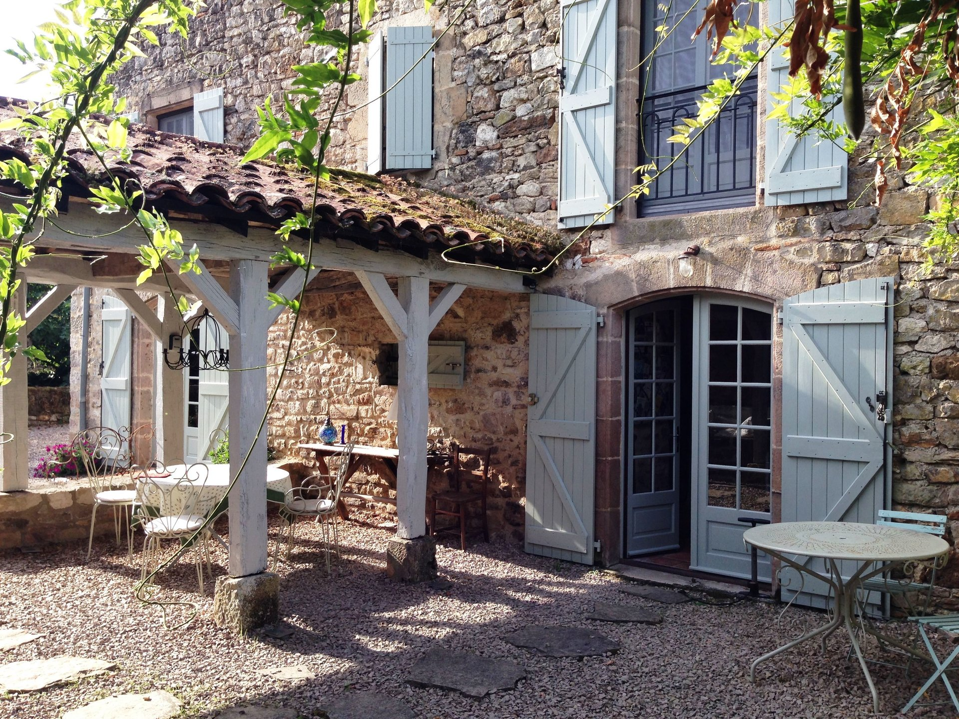 Stone Village House With Pool