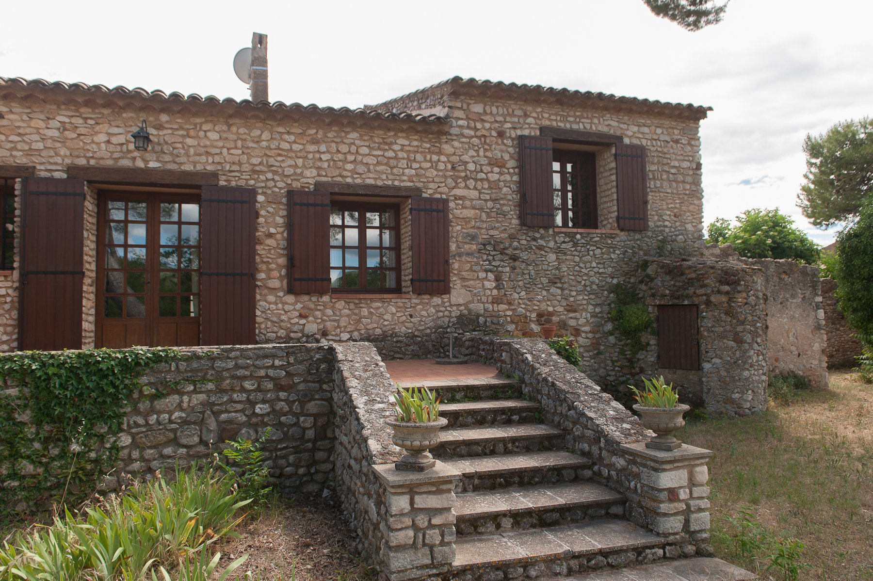 Au coeur du Luberon dans le village de Villars