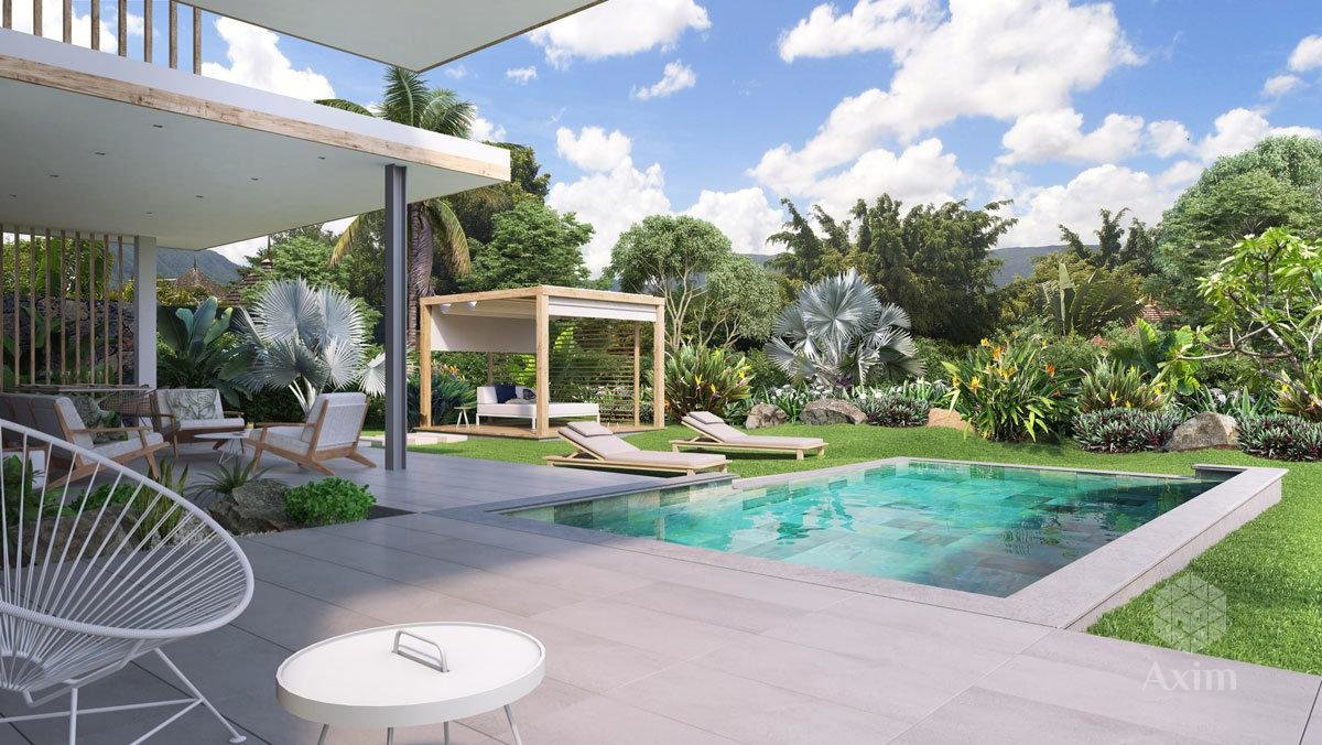 TAMARIN (mauritius island) - New and modern villa in PDS program