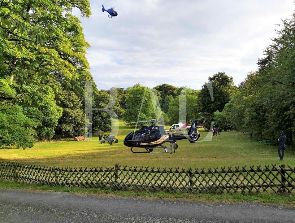 il est possible de venir avec plusieurs hélicoptères