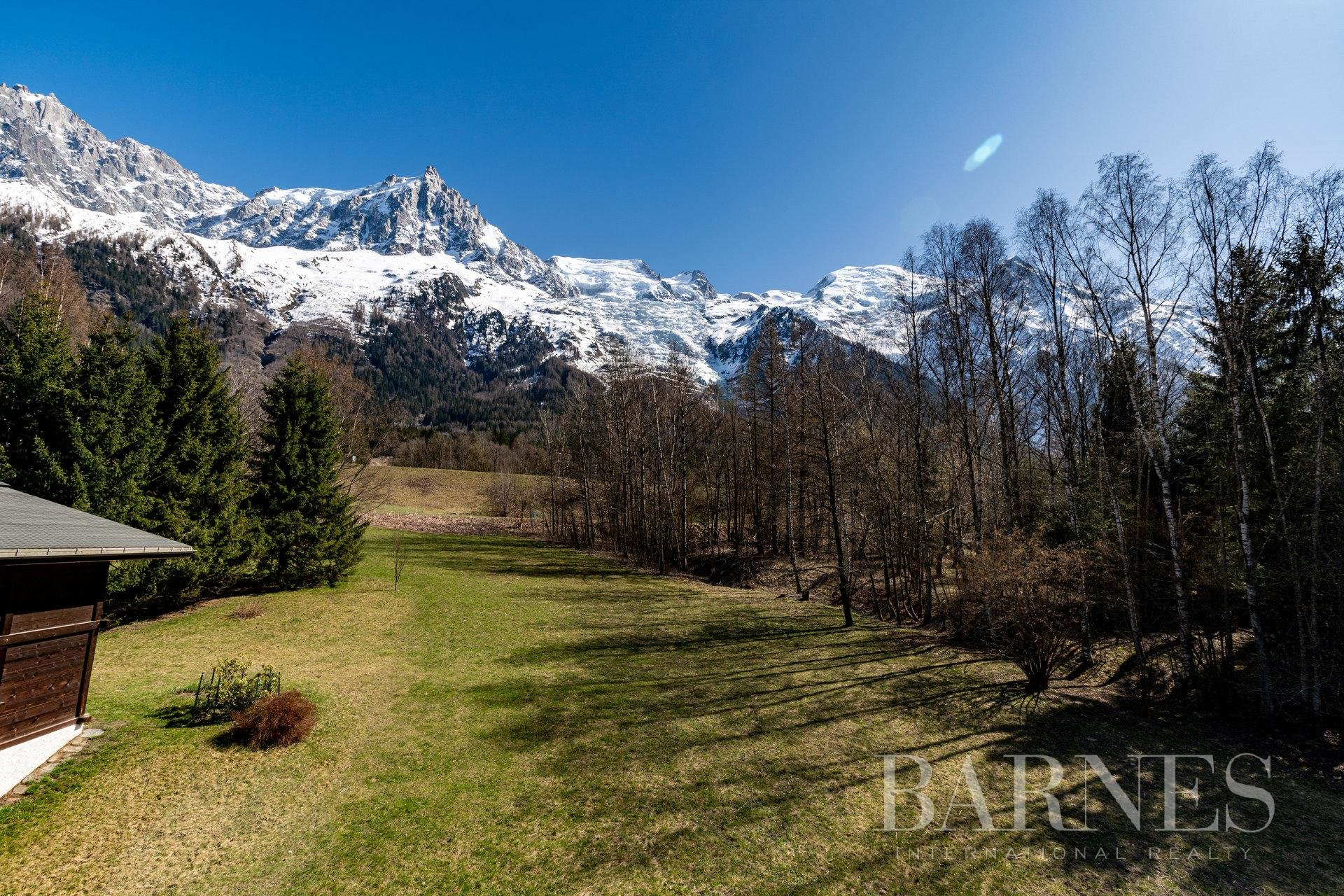 BUILDABLE LAND WITH BUILDING PERMIT Chalet in Chamonix