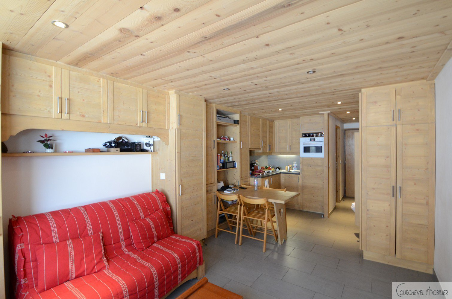 Seasonal rental Apartment - Courchevel Village 1550