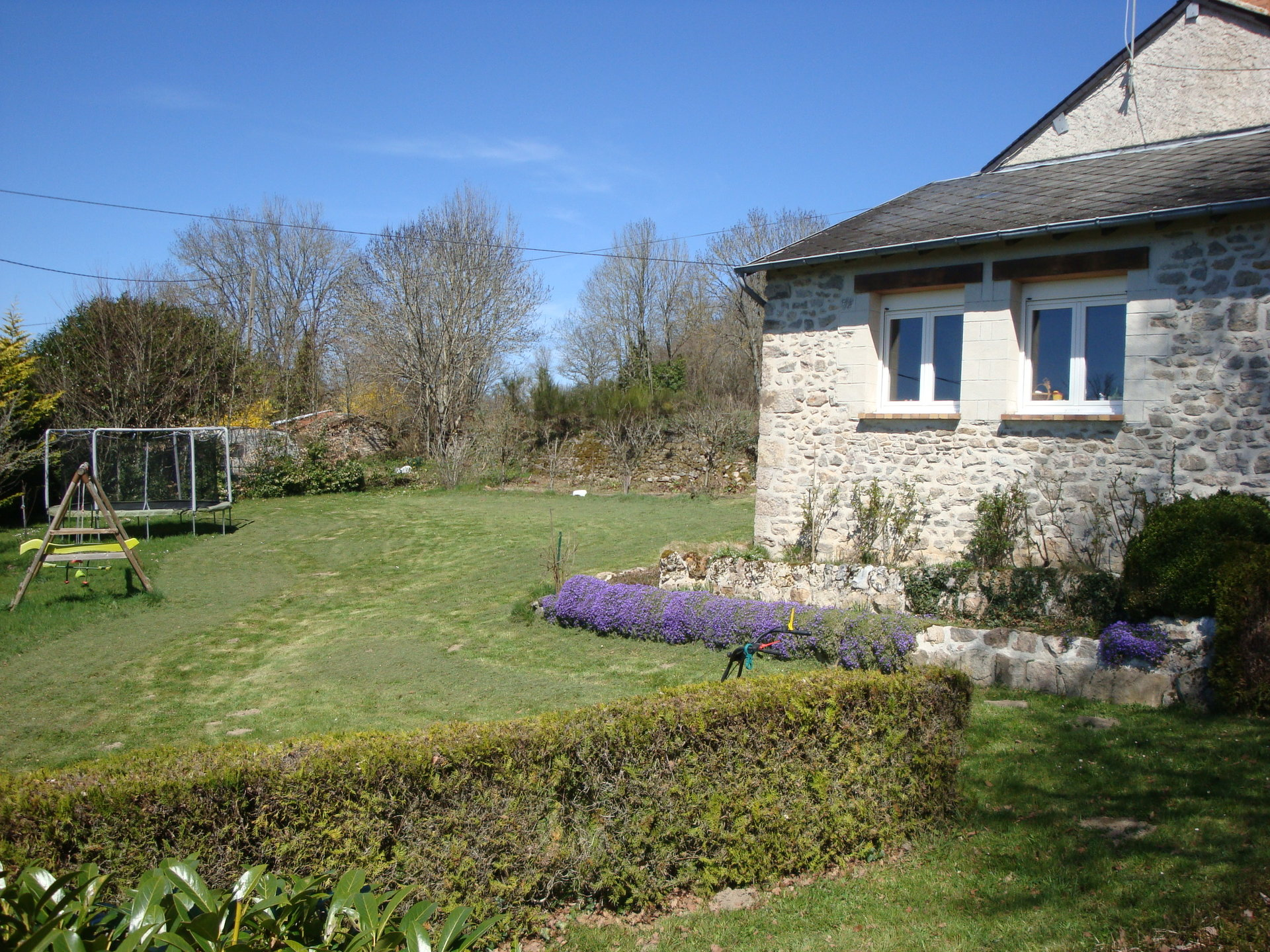 Natuurstenen huis met prachtig uitzicht te koop in Creuse