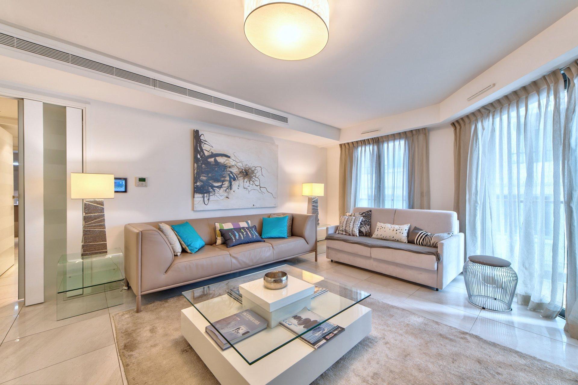 Exceptionnel appartement neuf Cannes Croisette. Rare!