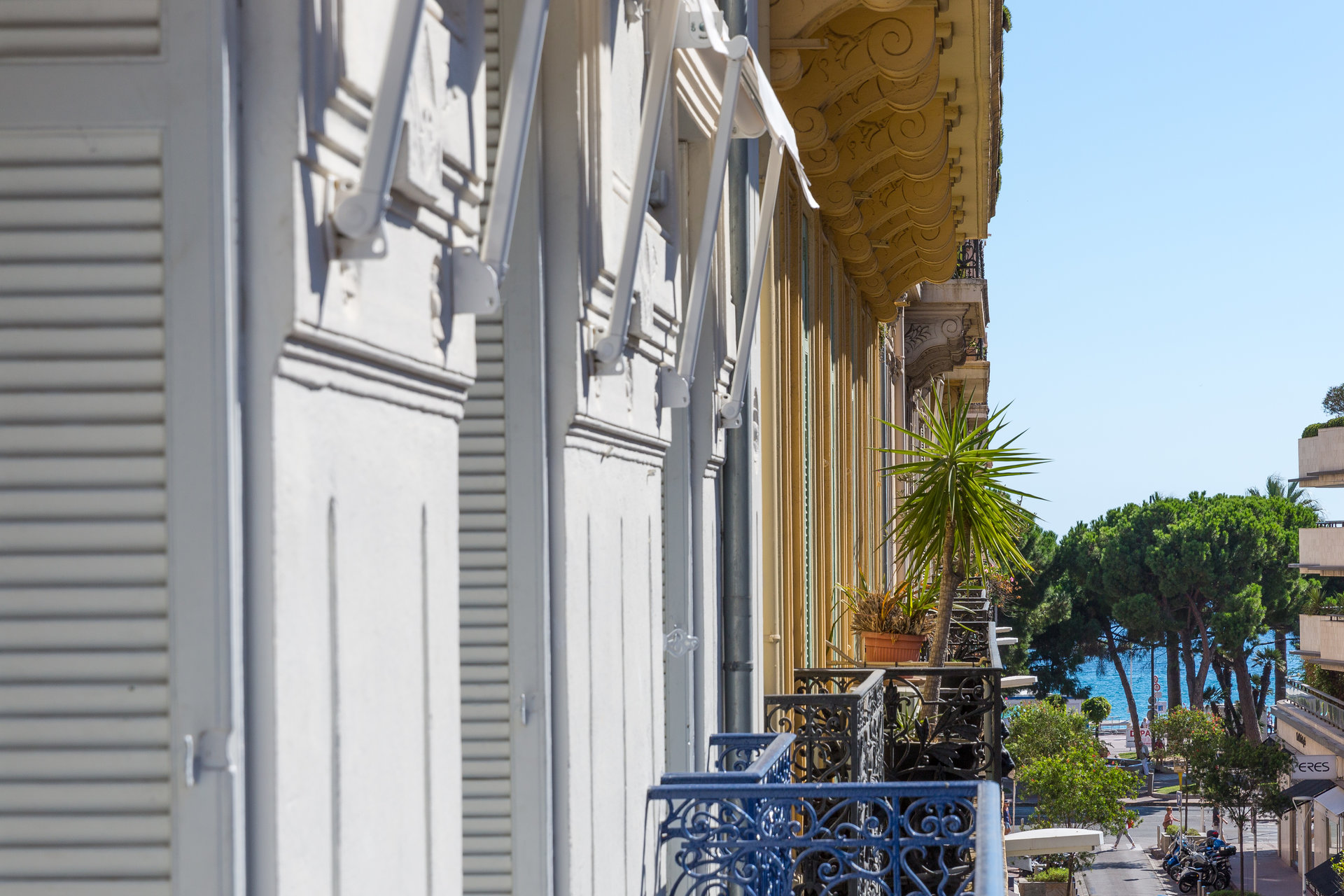 5:a i Centrum - Cannes