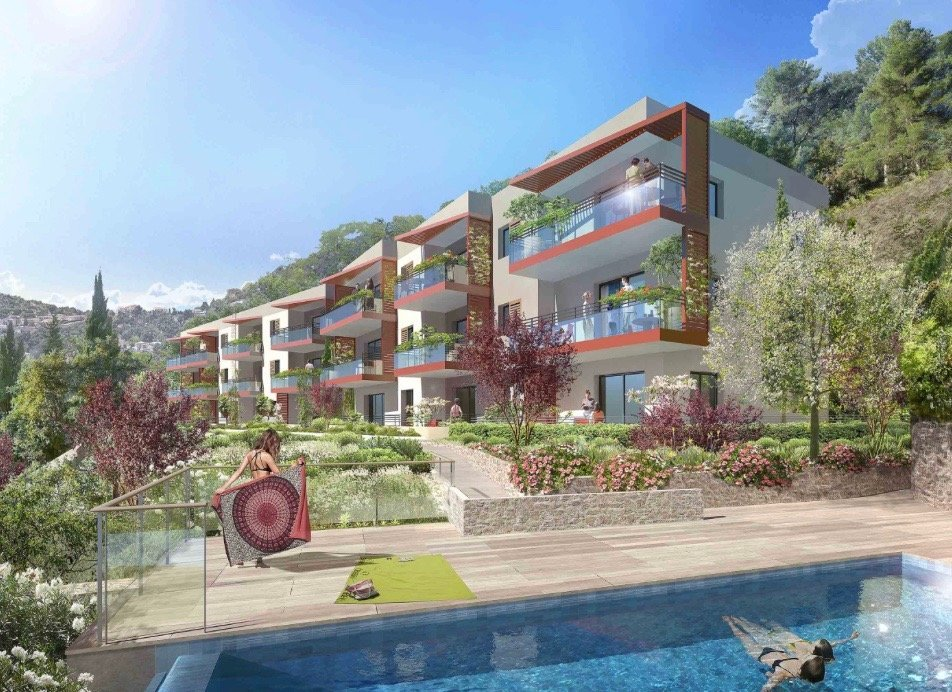 EZE - 3 bed Apartment - Sea view - Swimming pool