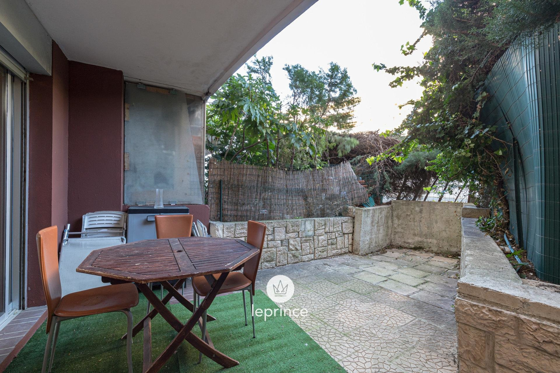 Nice West / Lanterne - 1 Bedroom apartment  Terrace and Garden