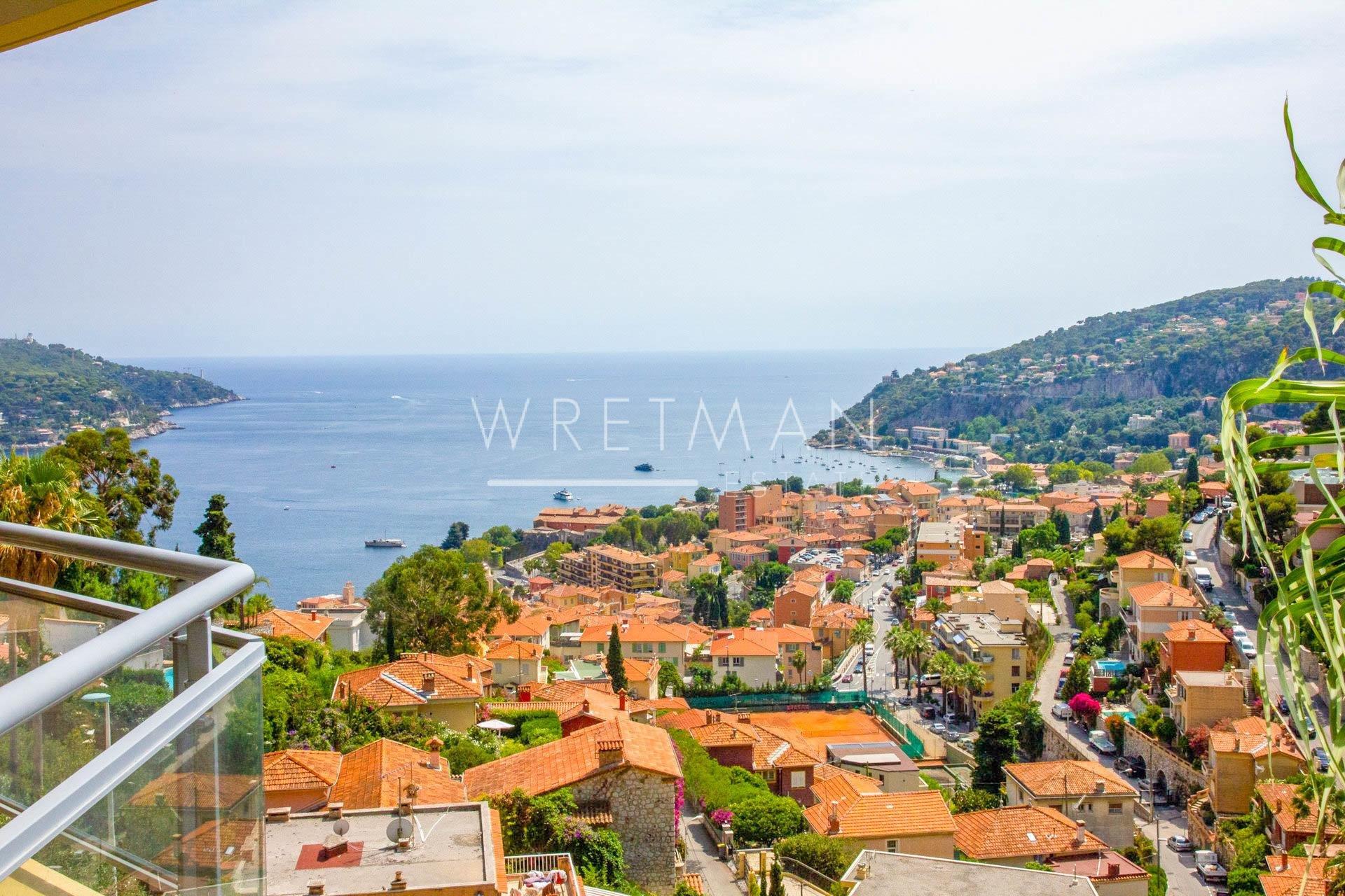 4:a med terrass och havsutiskt - Villefranche-sur-Mer