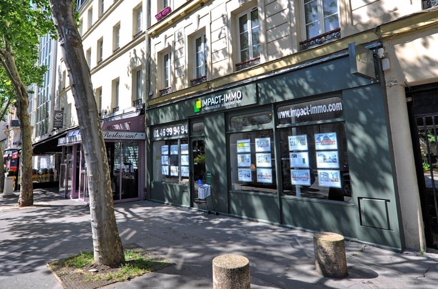 Square Léon Blum - 2p à rafraîchir - véranda