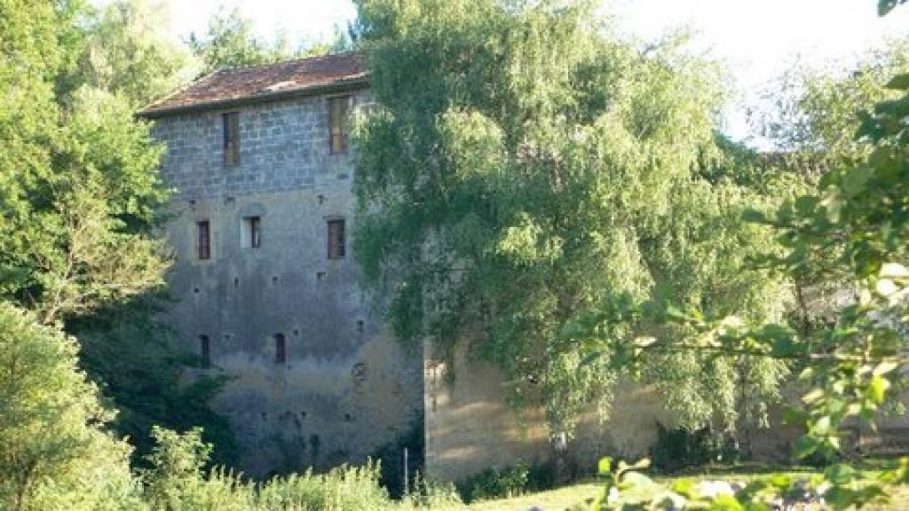 exceptional large mill with 5 barns. Ideal for staring various gites.