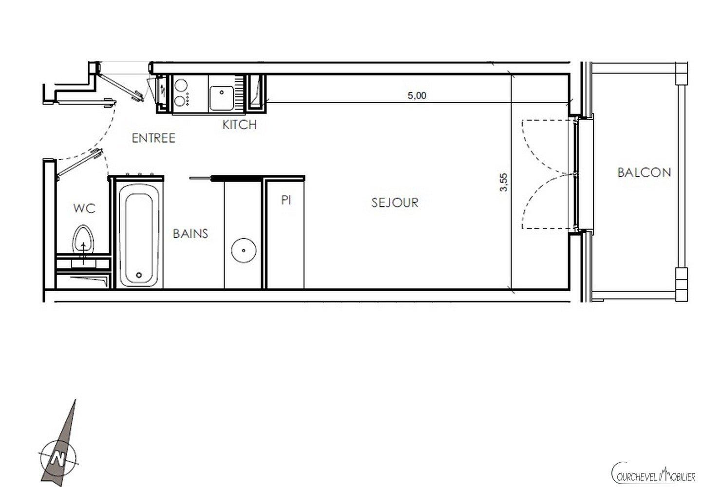 Programma Appartement - Courchevel Village 1550