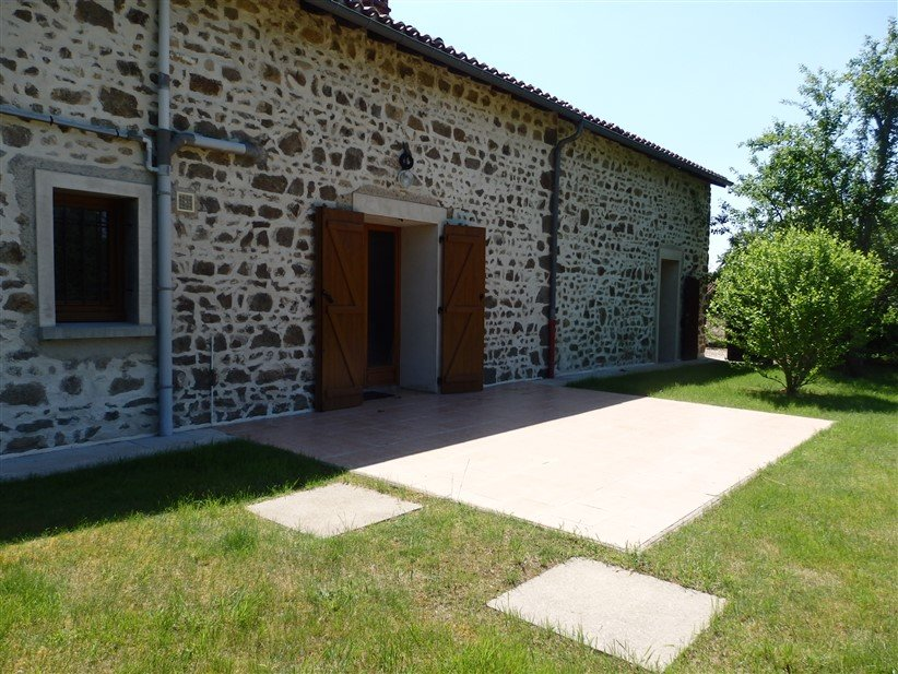 Renovated Country House For Sale Near Lathus in the Vienne