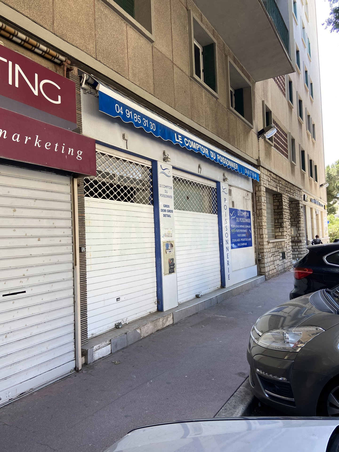 Local commercial St Giniez 13008 Marseille