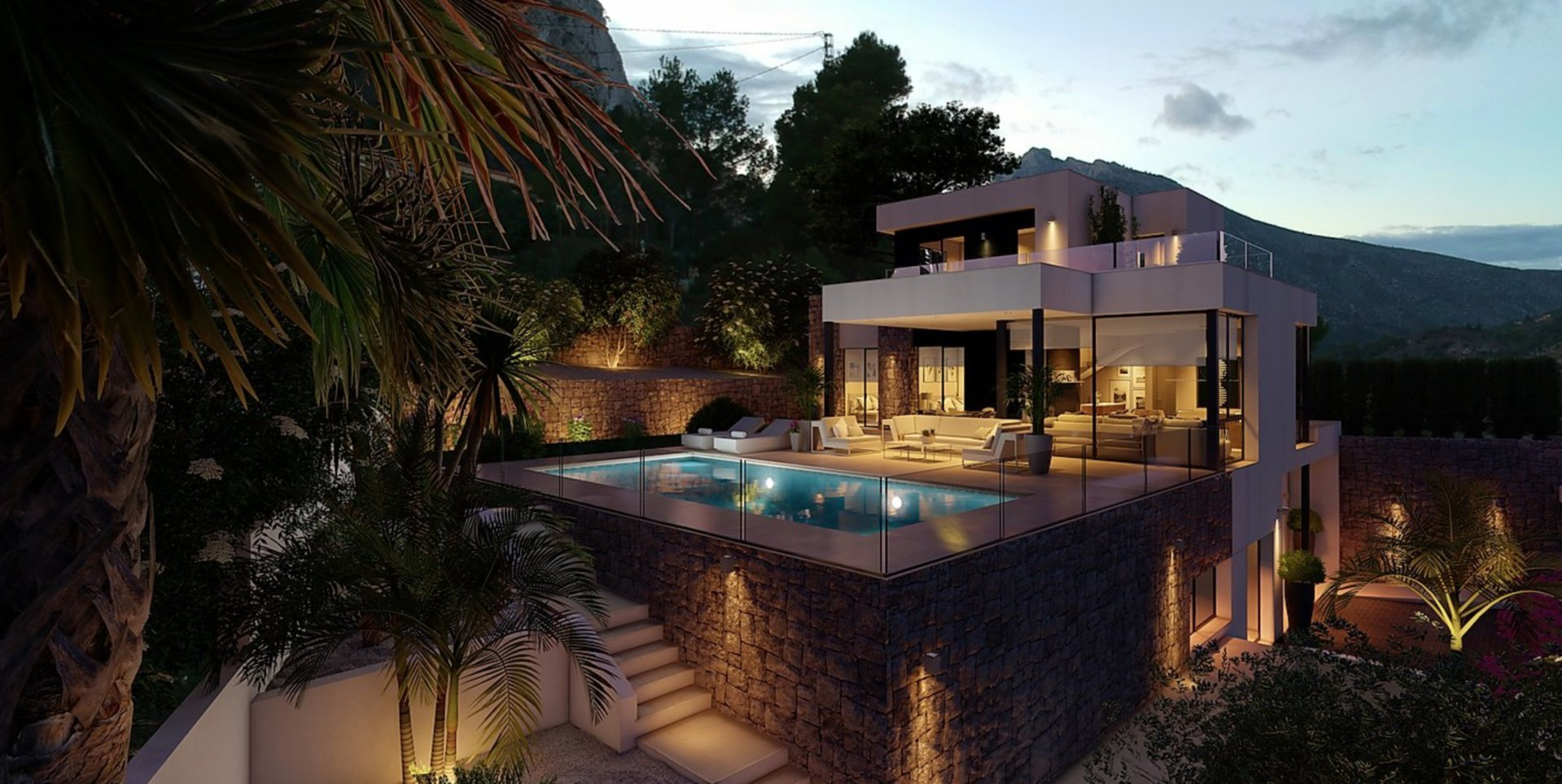 Exclusive design project close to the city centre of Calpe