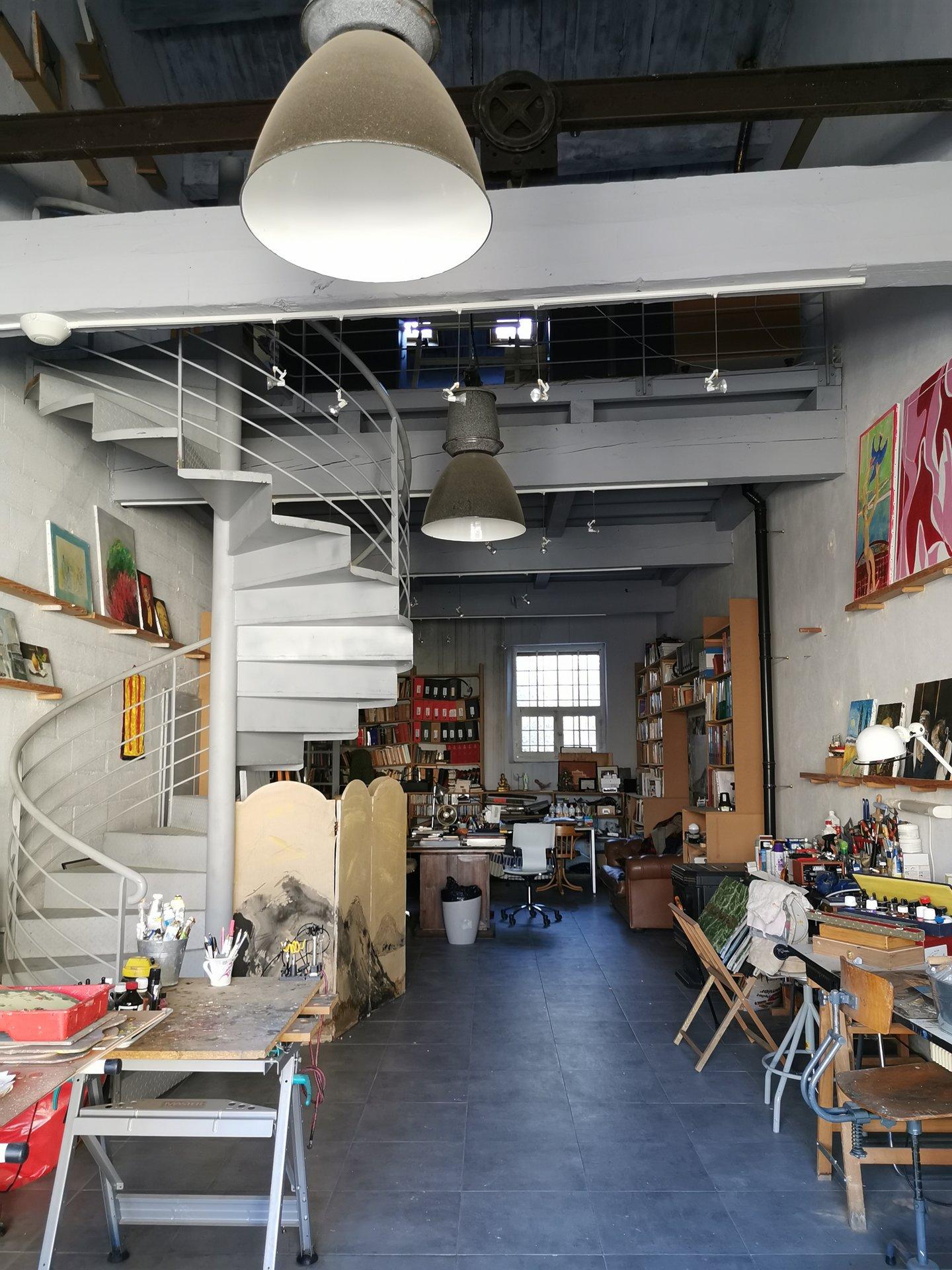 rare et atypique - loft atelier d'artiste