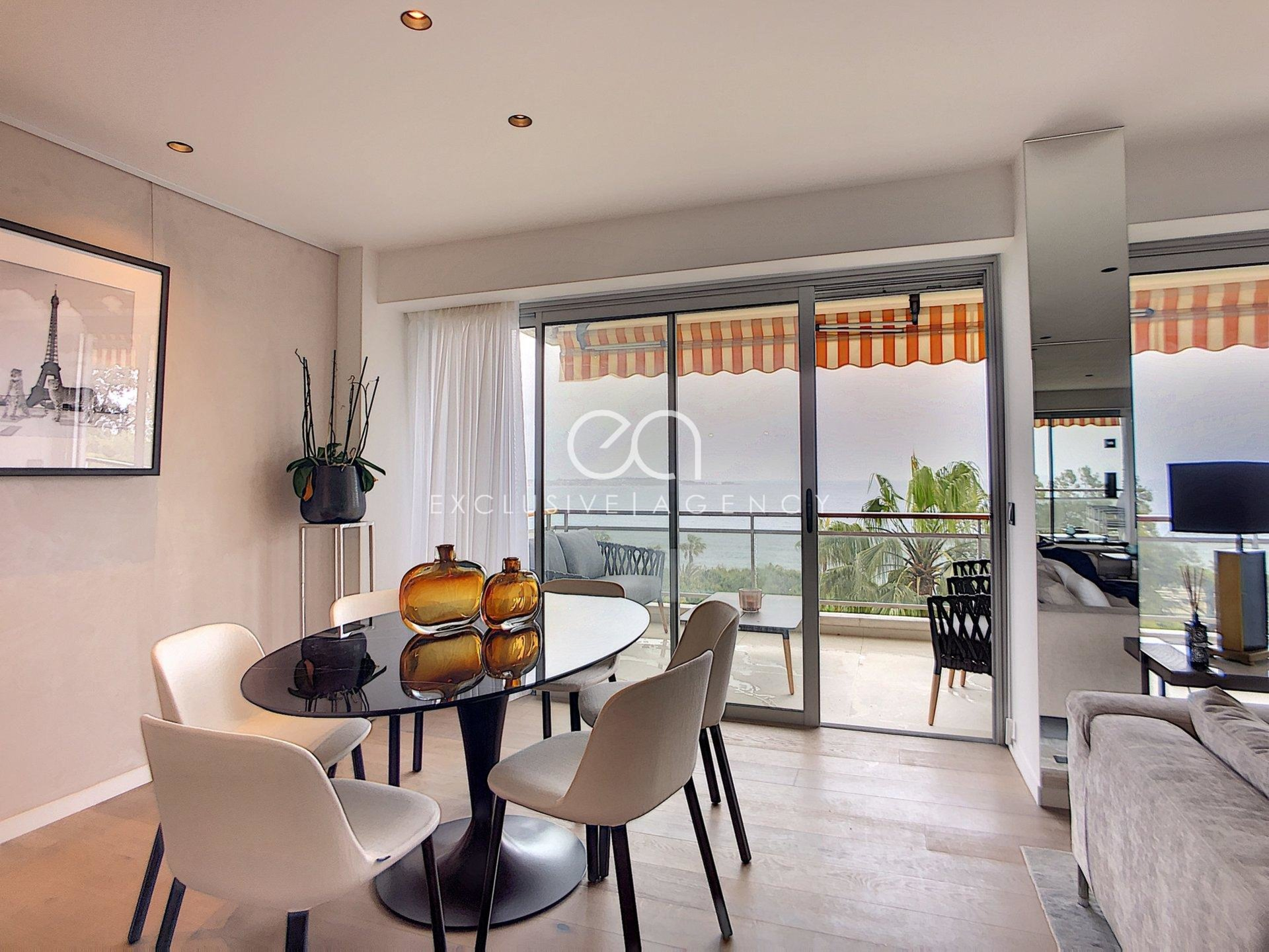 For sale Cannes Californie new 3-bedrooms apartment of 100m², terrace of 25m² and panoramic sea view.