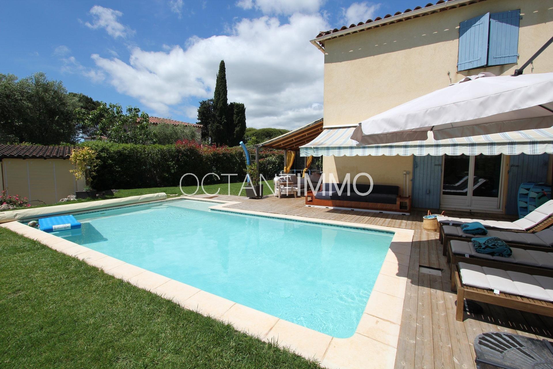 BIOT VALLEE VERTE villa 5 pièces piscine