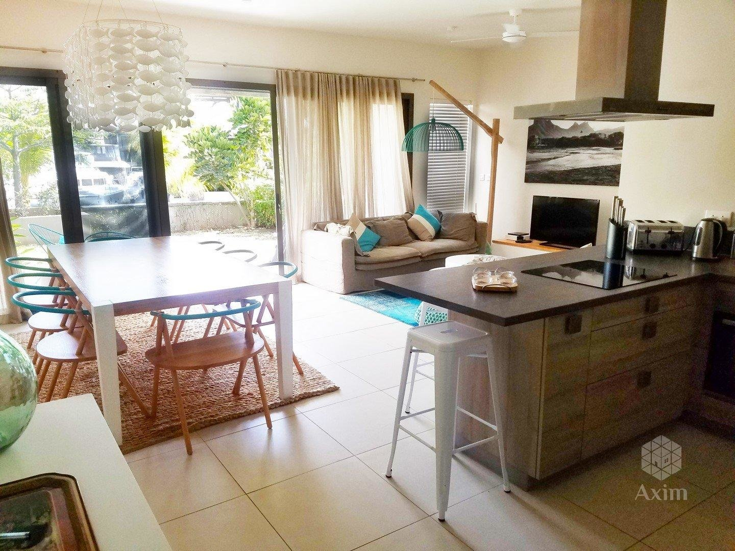 TAMARIN - Apartment 3 bedrooms + boat place