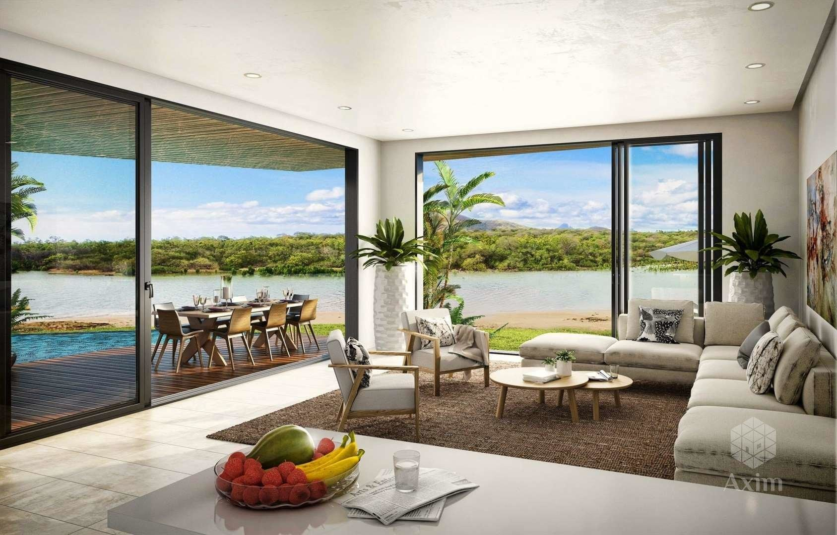 Mauritius - Luxury waterfront apartment