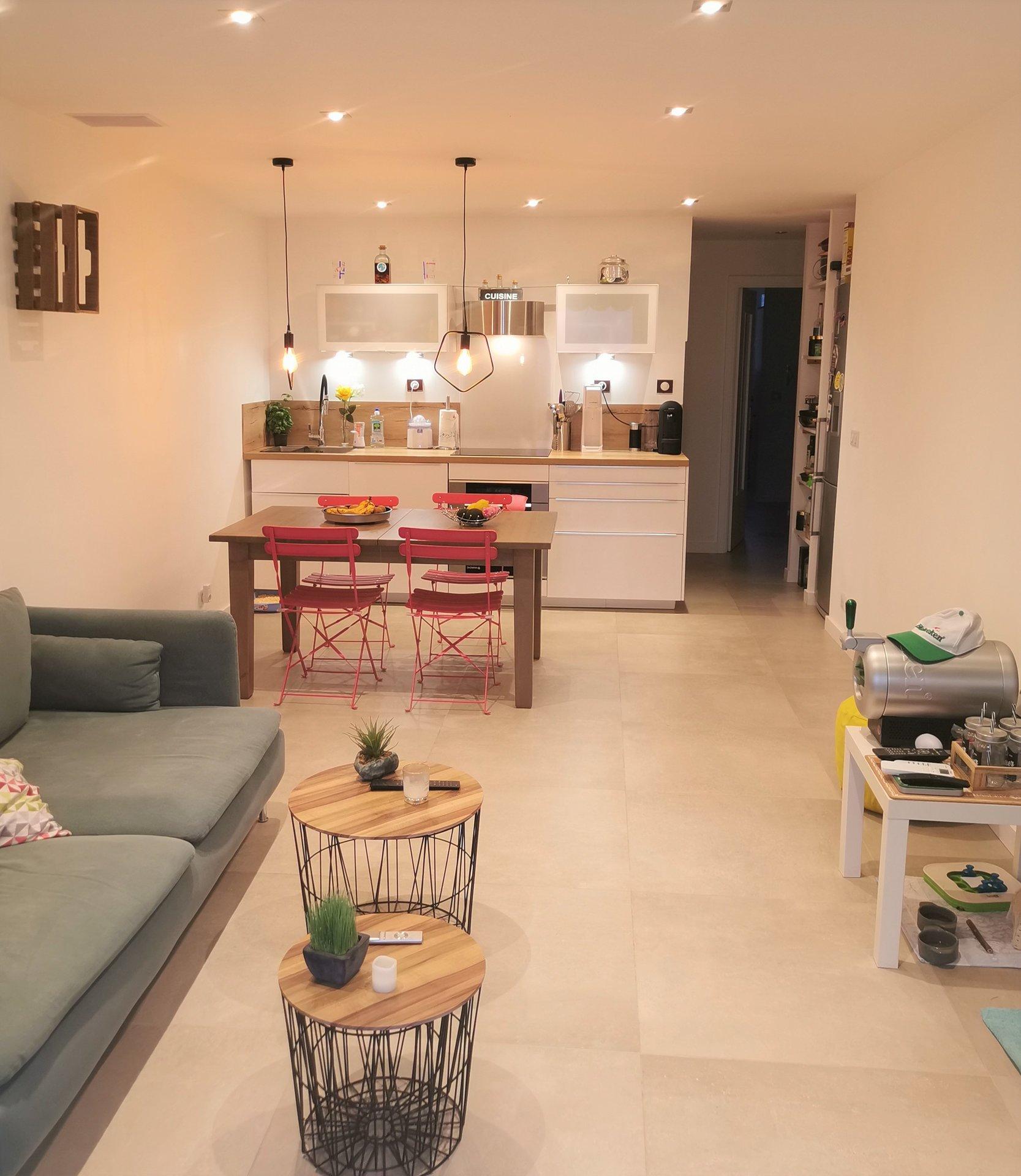 Appartement 2P moderne vue mer, quartier Saint Jacques, Grasse