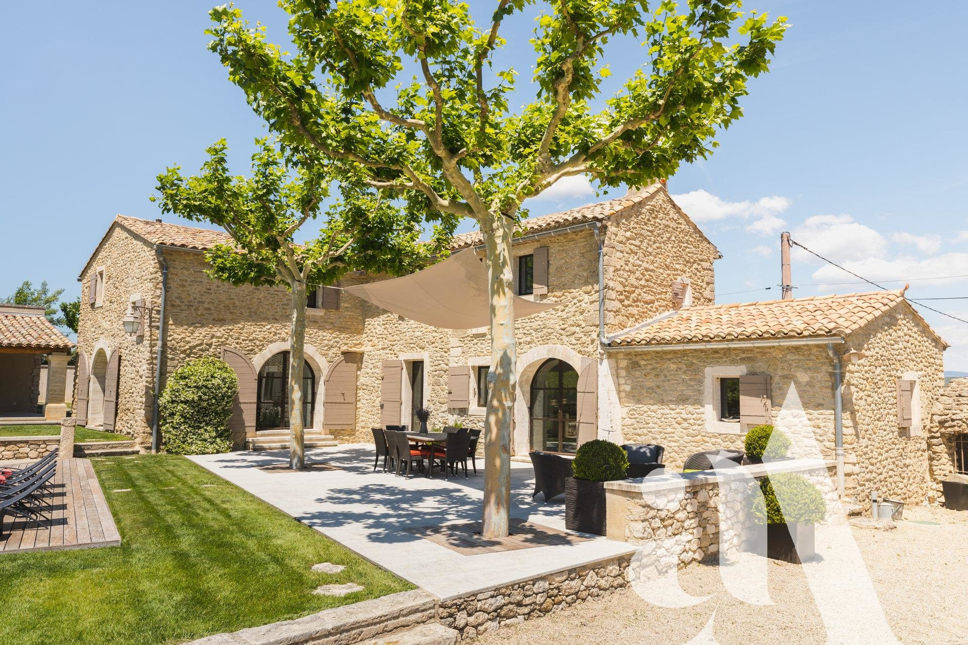 MAS NICE VIEW- - LUBERON - OPPEDES - 4 bedrooms- 8 people