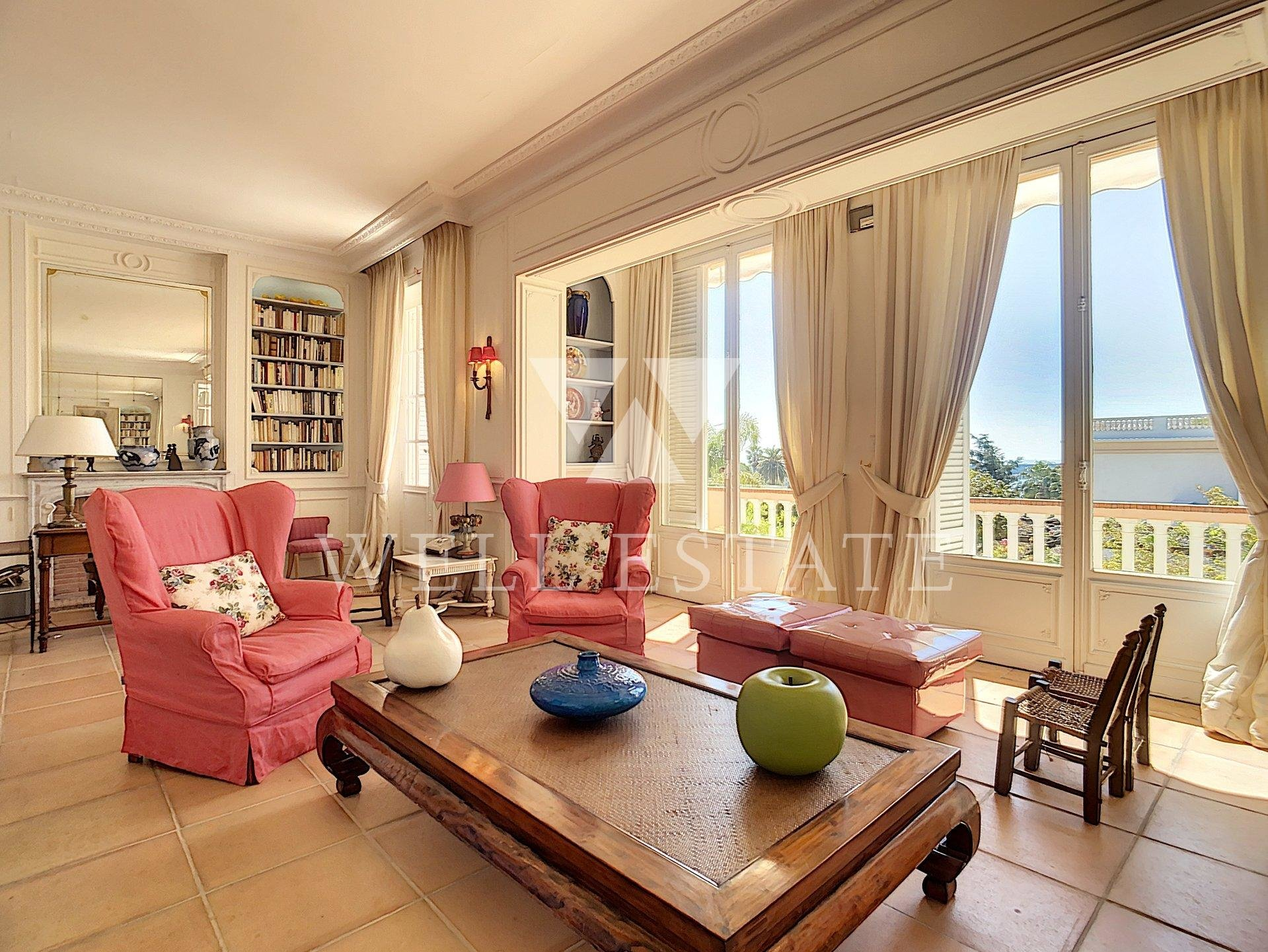 CANNES CALIFORNIE VILLA 6 BEDROOMS SEA VIEW SWIMMING POOL